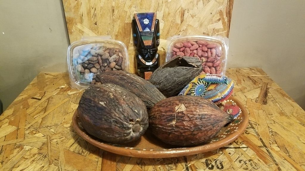 """Photo of Casa Cacao  by <a href=""""/members/profile/kenvegan"""">kenvegan</a> <br/>Cacao, Roasted and unroasted <br/> April 10, 2017  - <a href='/contact/abuse/image/82832/246845'>Report</a>"""
