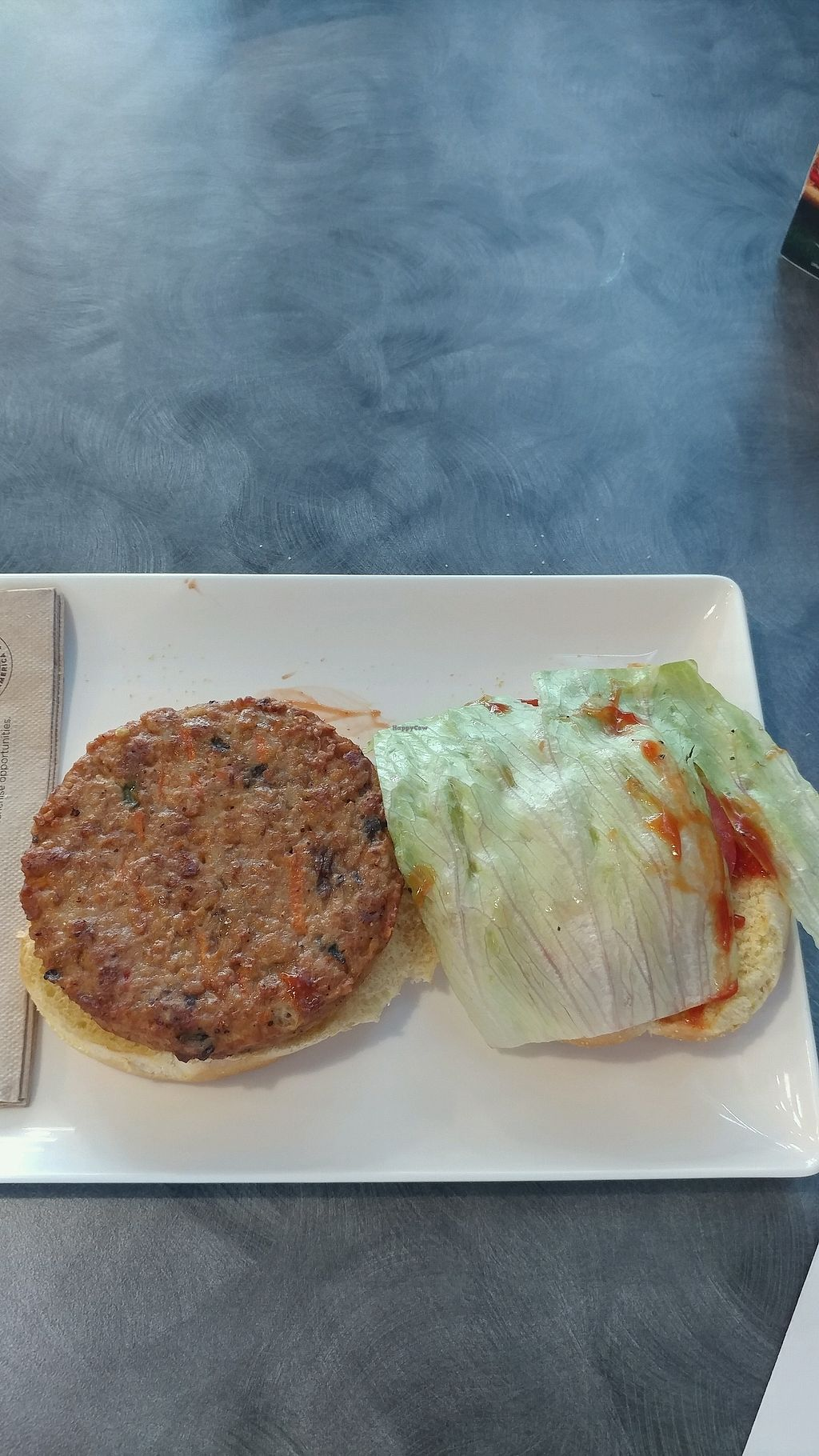 """Photo of Capriotti's Sandwich Shop  by <a href=""""/members/profile/mster9ball1"""">mster9ball1</a> <br/>again this is a veggie burger <br/> September 18, 2017  - <a href='/contact/abuse/image/82834/305814'>Report</a>"""