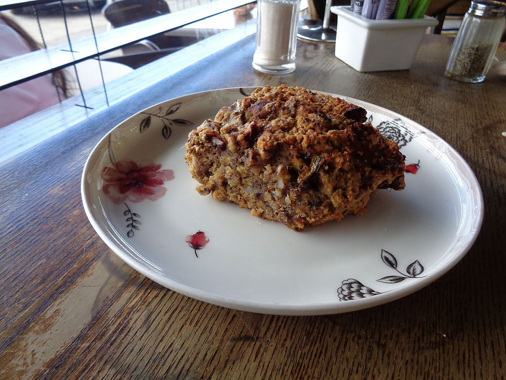 "Photo of Grindz Cafe  by <a href=""/members/profile/citizenInsane"">citizenInsane</a> <br/>vegan banana, date & walnut scone <br/> November 19, 2016  - <a href='/contact/abuse/image/82844/191952'>Report</a>"