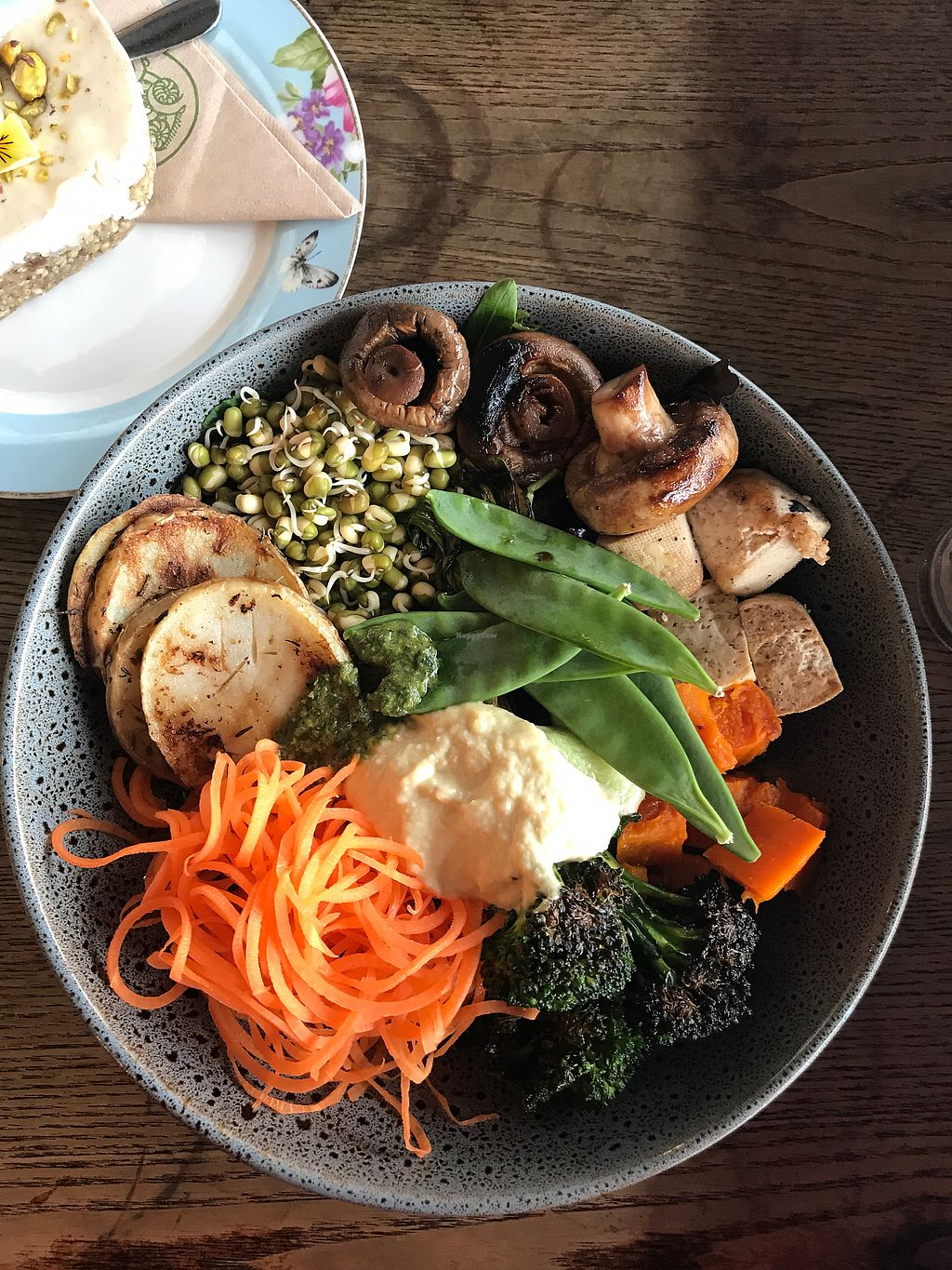 "Photo of Grindz Cafe  by <a href=""/members/profile/Binks"">Binks</a> <br/>Buddha bowl <br/> August 31, 2017  - <a href='/contact/abuse/image/82844/299304'>Report</a>"