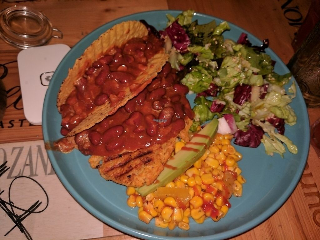 "Photo of Ossido Vegan Bistrot  by <a href=""/members/profile/YohanaGenova"">YohanaGenova</a> <br/>tacos <br/> March 12, 2017  - <a href='/contact/abuse/image/82853/235540'>Report</a>"