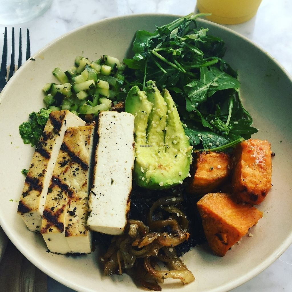 """Photo of Flower Child - The Domain  by <a href=""""/members/profile/KatieB"""">KatieB</a> <br/>Mother Earth Bowl with Tofu <br/> May 22, 2017  - <a href='/contact/abuse/image/82897/261496'>Report</a>"""