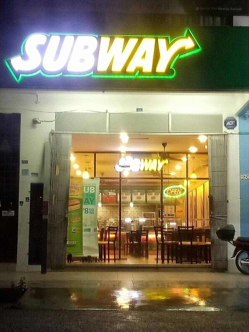 """Photo of Subway  by <a href=""""/members/profile/CheeLeongLee"""">CheeLeongLee</a> <br/>Front <br/> November 18, 2016  - <a href='/contact/abuse/image/82917/191864'>Report</a>"""
