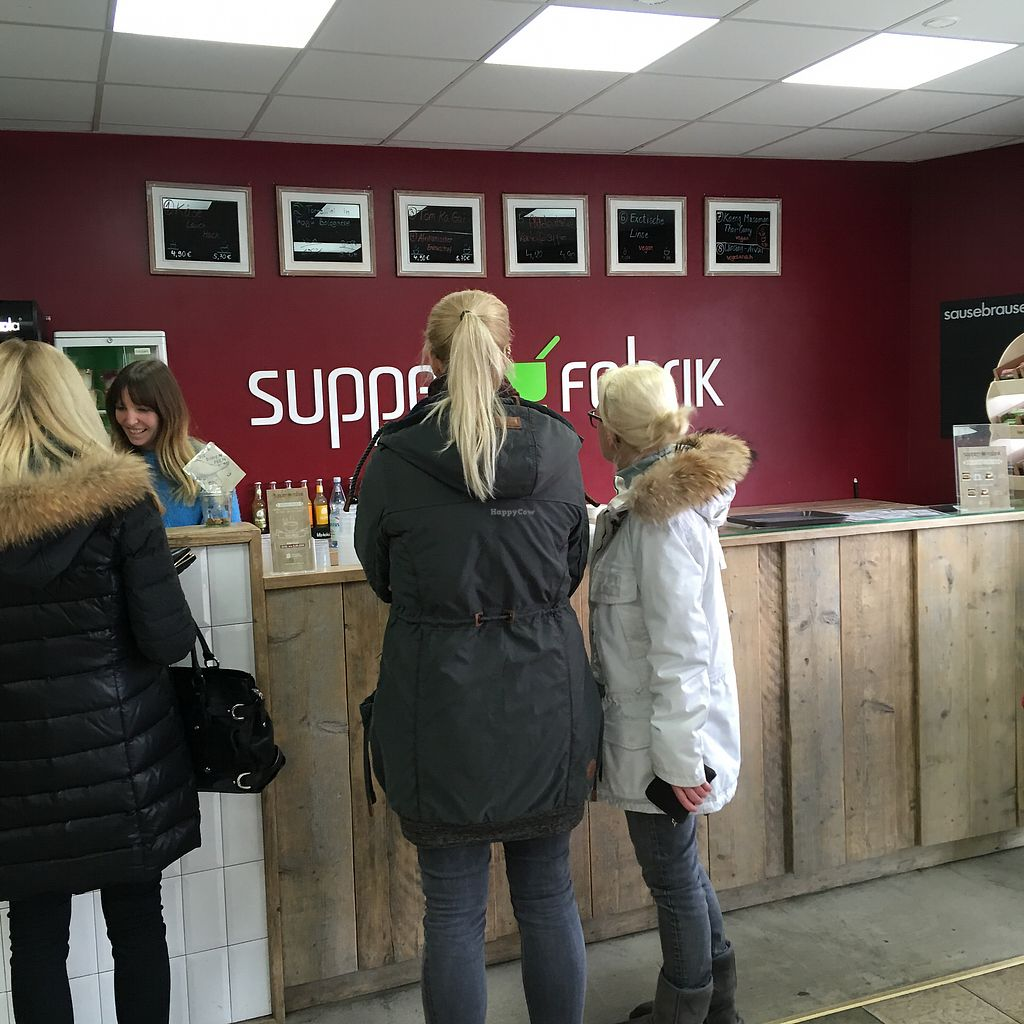 """Photo of Suppen Fabrik  by <a href=""""/members/profile/KatieBush"""">KatieBush</a> <br/>Interior <br/> March 26, 2018  - <a href='/contact/abuse/image/82919/376295'>Report</a>"""