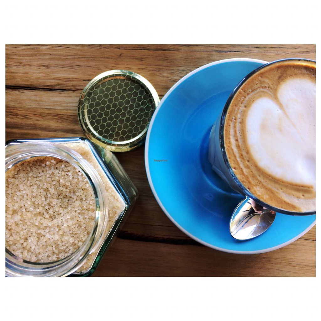"""Photo of Onda Food House  by <a href=""""/members/profile/ohhellohannah"""">ohhellohannah</a> <br/>Allpress coffee w soy milk <br/> June 26, 2017  - <a href='/contact/abuse/image/82944/273559'>Report</a>"""