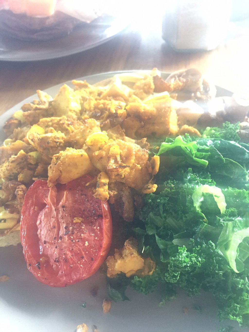 """Photo of Onda Food House  by <a href=""""/members/profile/Kittybiscuit"""">Kittybiscuit</a> <br/>scrambled tofu <br/> August 6, 2017  - <a href='/contact/abuse/image/82944/289538'>Report</a>"""
