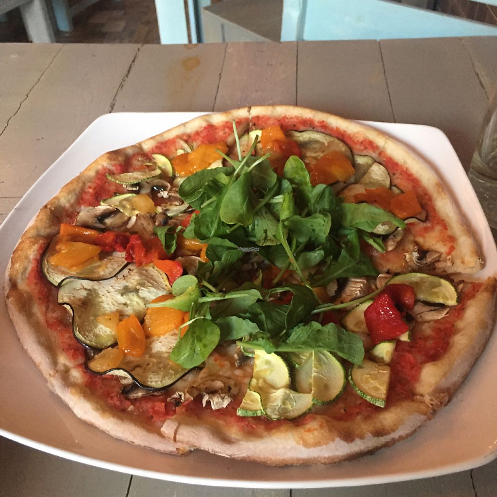 """Photo of Veggitalia  by <a href=""""/members/profile/DinaBird"""">DinaBird</a> <br/>5 terre vegan pizza <br/> April 29, 2017  - <a href='/contact/abuse/image/82945/253579'>Report</a>"""