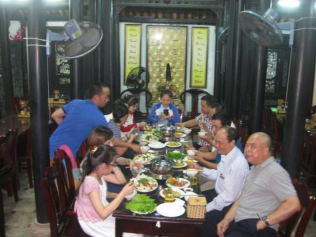 """Photo of Ngu Ha Garden Vegetarian Restaurant  by <a href=""""/members/profile/TrungAD"""">TrungAD</a> <br/>NGU HA SOLE DESTINATION GROUP <br/> December 2, 2016  - <a href='/contact/abuse/image/82947/196663'>Report</a>"""