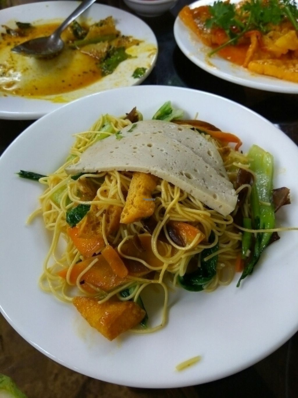 """Photo of Ngu Ha Garden Vegetarian Restaurant  by <a href=""""/members/profile/Miggi"""">Miggi</a> <br/>noodles with vegetables <br/> January 9, 2017  - <a href='/contact/abuse/image/82947/209820'>Report</a>"""