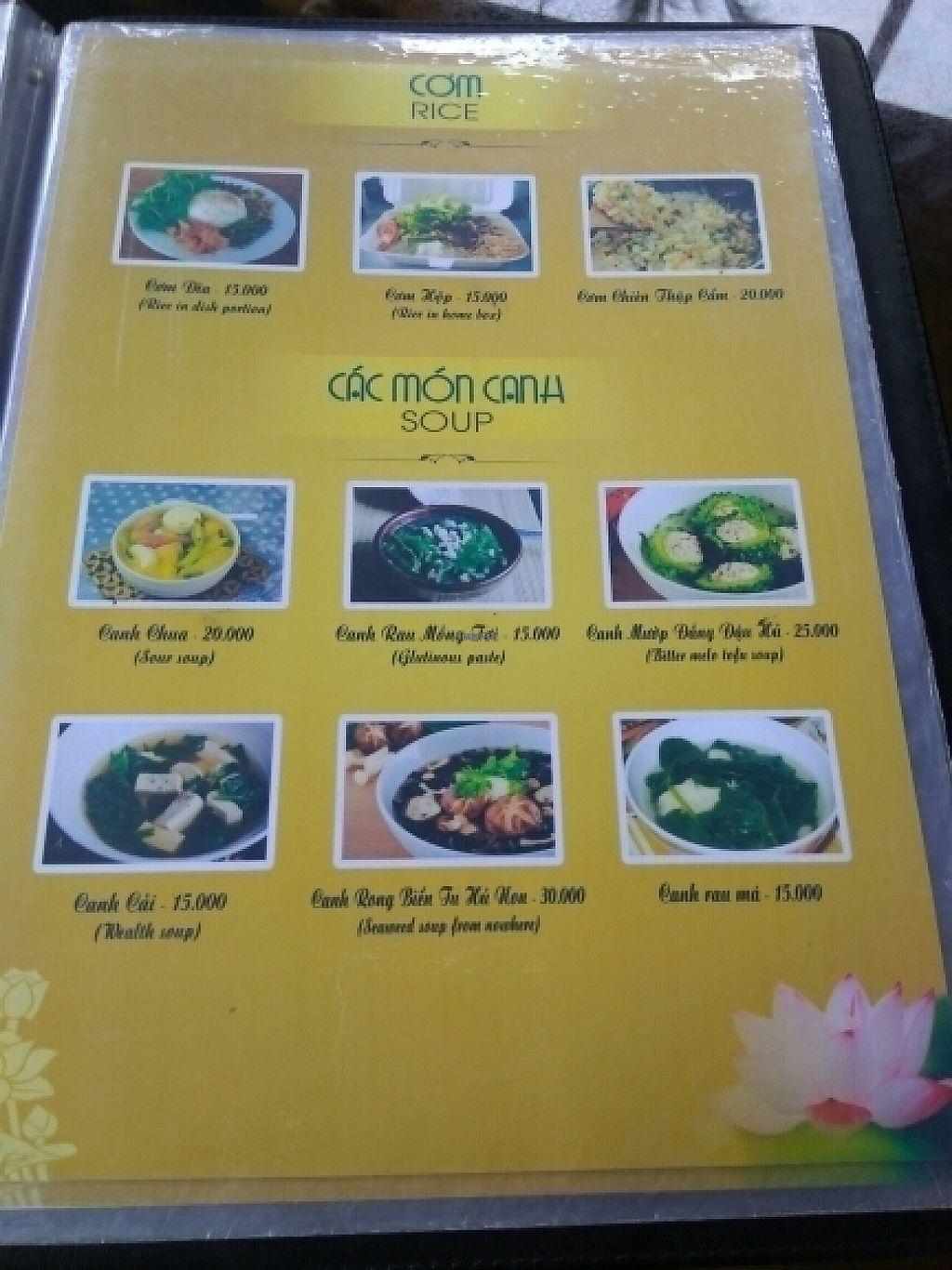 "Photo of Ngu Ha Garden Vegetarian Restaurant  by <a href=""/members/profile/Miggi"">Miggi</a> <br/>Menu 7 <br/> January 9, 2017  - <a href='/contact/abuse/image/82947/209836'>Report</a>"