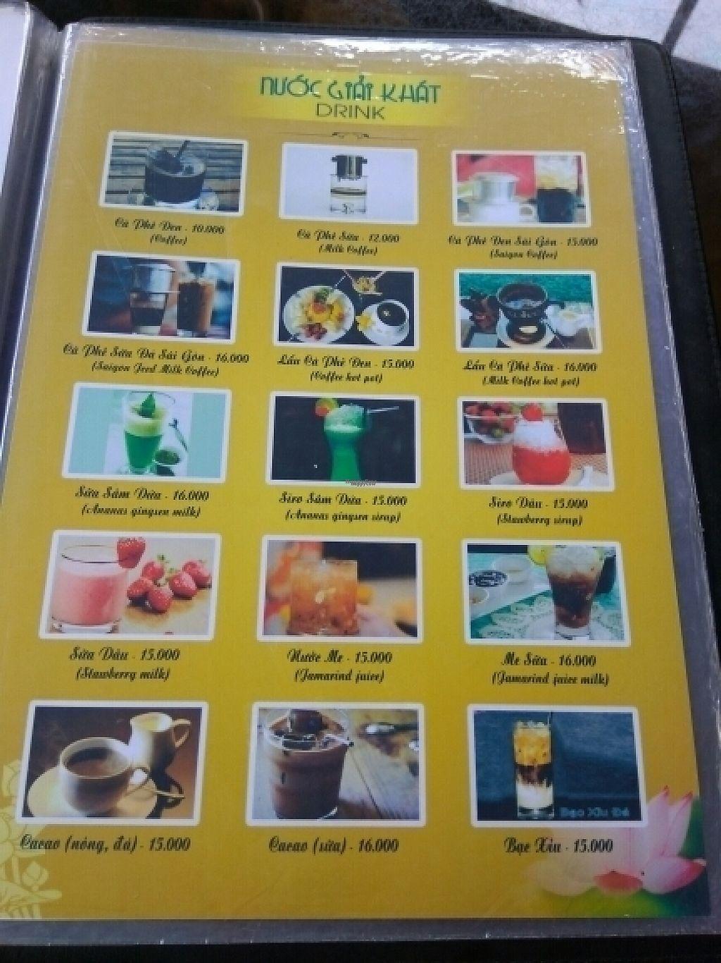 "Photo of Ngu Ha Garden Vegetarian Restaurant  by <a href=""/members/profile/Miggi"">Miggi</a> <br/>Menu 8 <br/> January 9, 2017  - <a href='/contact/abuse/image/82947/209840'>Report</a>"