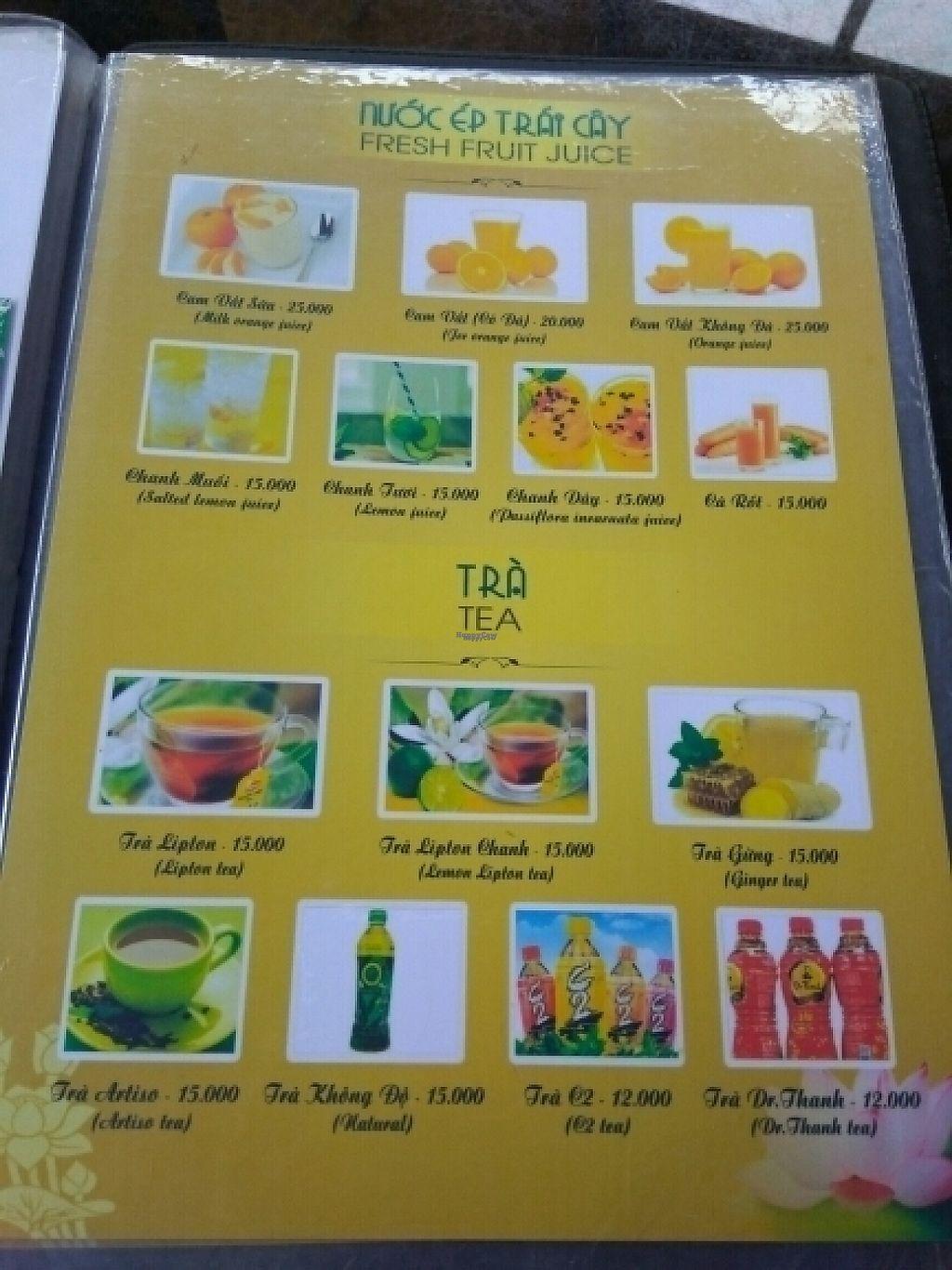 "Photo of Ngu Ha Garden Vegetarian Restaurant  by <a href=""/members/profile/Miggi"">Miggi</a> <br/>Menu 9 <br/> January 9, 2017  - <a href='/contact/abuse/image/82947/209841'>Report</a>"