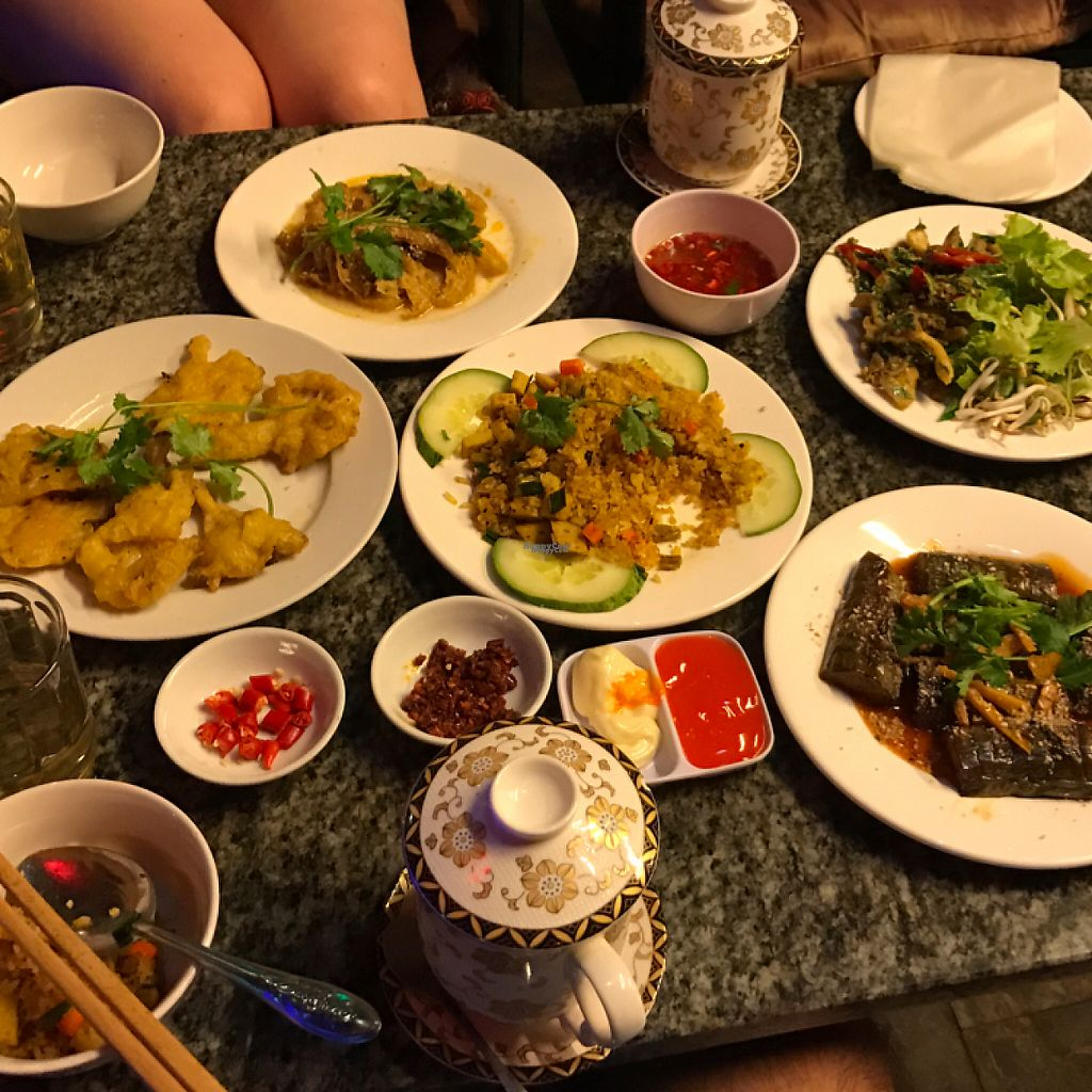 """Photo of Ngu Ha Garden Vegetarian Restaurant  by <a href=""""/members/profile/lepkirk"""">lepkirk</a> <br/>Food <br/> February 19, 2017  - <a href='/contact/abuse/image/82947/228216'>Report</a>"""