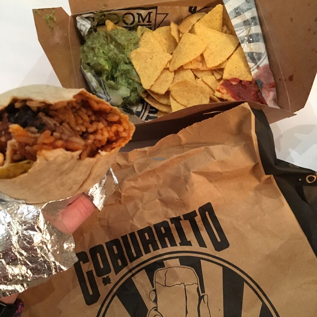 "Photo of Go Burrito  by <a href=""/members/profile/radiocaz"">radiocaz</a> <br/>veggie burrito - lovely  <br/> January 12, 2017  - <a href='/contact/abuse/image/82955/211476'>Report</a>"