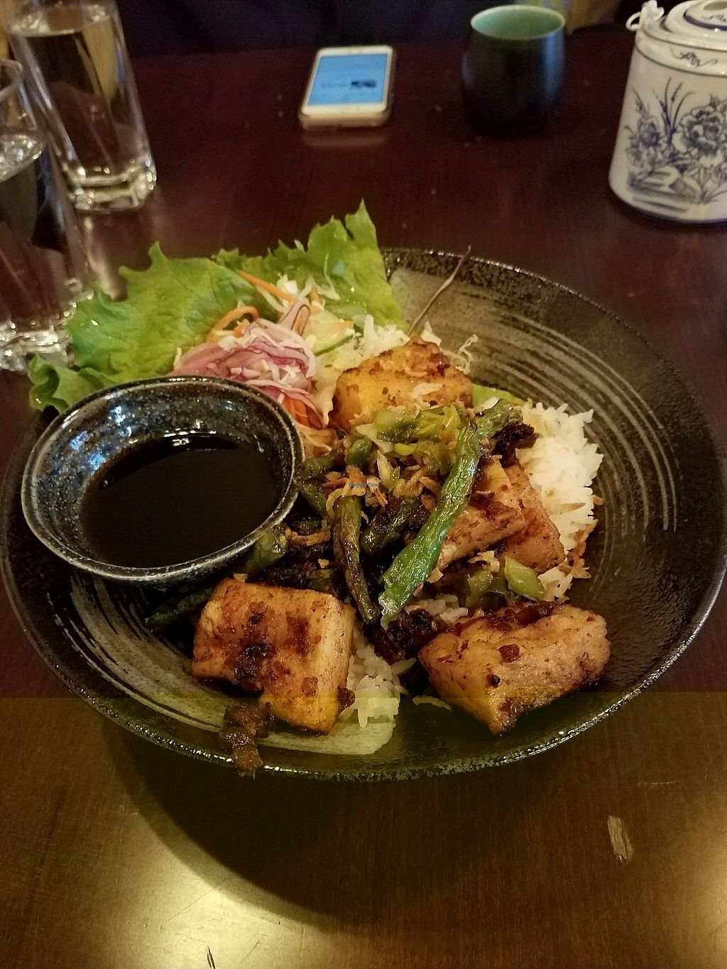 """Photo of House Special  by <a href=""""/members/profile/deathburrito23"""">deathburrito23</a> <br/>lemongrass tofu <br/> November 23, 2017  - <a href='/contact/abuse/image/82963/328587'>Report</a>"""