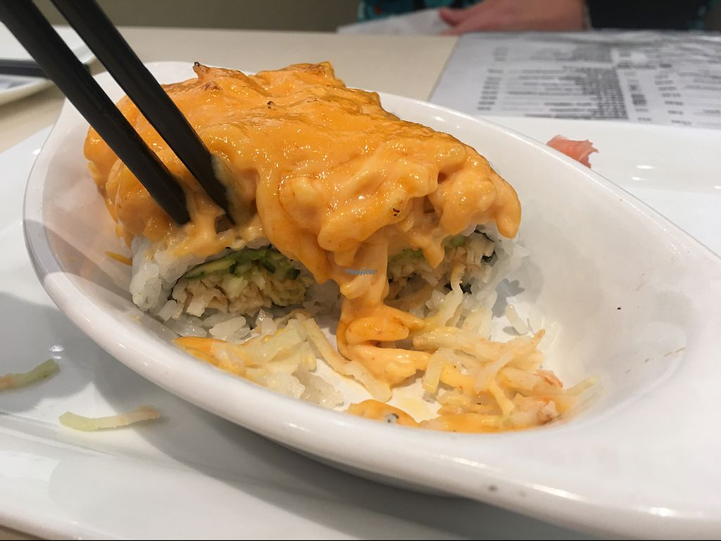 """Photo of VeGreen  by <a href=""""/members/profile/Risa8"""">Risa8</a> <br/>Volcano sushi roll <br/> January 15, 2017  - <a href='/contact/abuse/image/82970/212078'>Report</a>"""