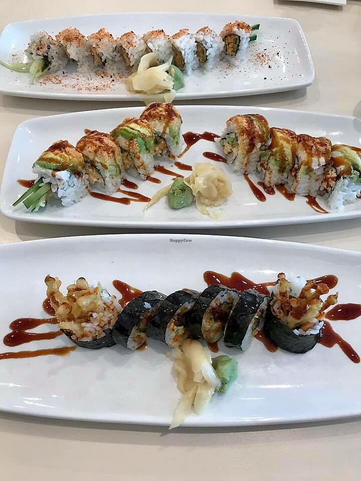 """Photo of VeGreen  by <a href=""""/members/profile/melissapedroso"""">melissapedroso</a> <br/>Sushi <br/> October 30, 2017  - <a href='/contact/abuse/image/82970/320191'>Report</a>"""