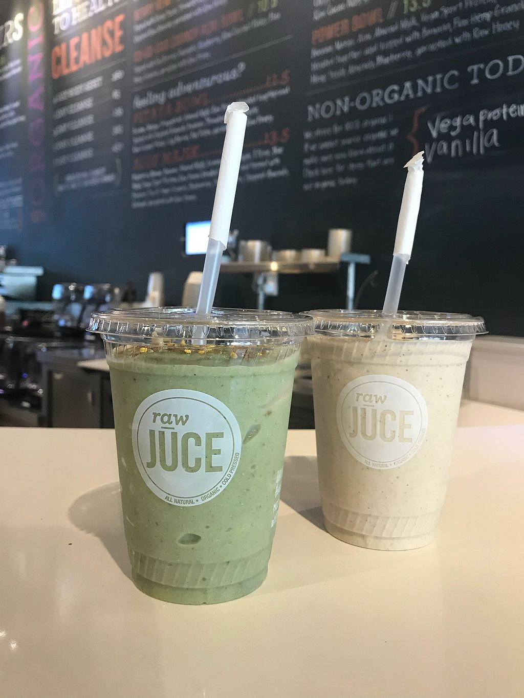 """Photo of Raw Juce  by <a href=""""/members/profile/VictoriaLozada"""">VictoriaLozada</a> <br/>Amazing smoothies  <br/> September 30, 2017  - <a href='/contact/abuse/image/82993/309962'>Report</a>"""