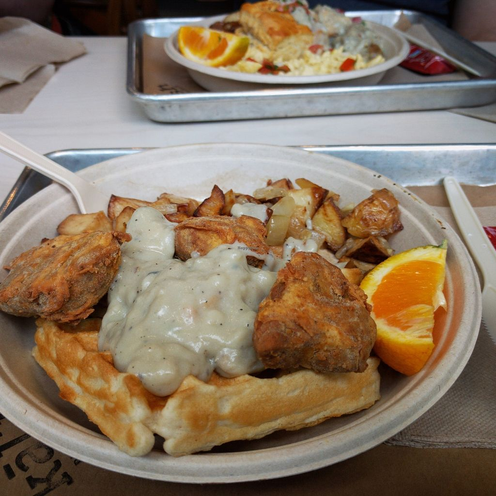 """Photo of Kal'ish  by <a href=""""/members/profile/makemenervous"""">makemenervous</a> <br/>Fried Clucker Crisps & Waffles <br/> June 26, 2017  - <a href='/contact/abuse/image/83019/273685'>Report</a>"""