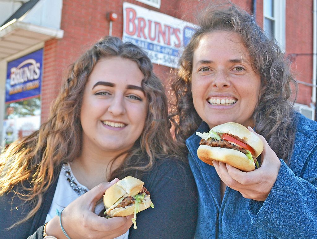"""Photo of REMOVED: Bruni's Burgers  by <a href=""""/members/profile/American%20Vegan"""">American Vegan</a> <br/>Emily & Anne <br/> November 23, 2016  - <a href='/contact/abuse/image/83026/193383'>Report</a>"""