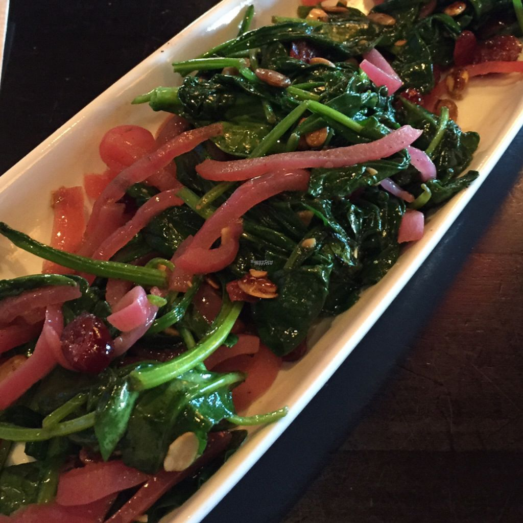 "Photo of Paladar Latin Kitchen & Rum Bar  by <a href=""/members/profile/GMUGrad2002"">GMUGrad2002</a> <br/>pumpkin seed spinach (without cheese) <br/> November 22, 2016  - <a href='/contact/abuse/image/83038/192993'>Report</a>"