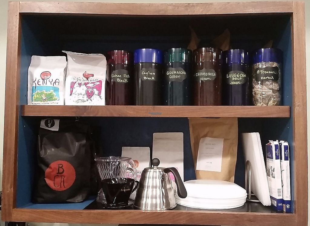 """Photo of Mammoth Coffee  by <a href=""""/members/profile/MammothCoffee"""">MammothCoffee</a> <br/>Loose leaf tea and single origin pour over coffee at Mammoth Coffee <br/> November 22, 2016  - <a href='/contact/abuse/image/83041/223521'>Report</a>"""