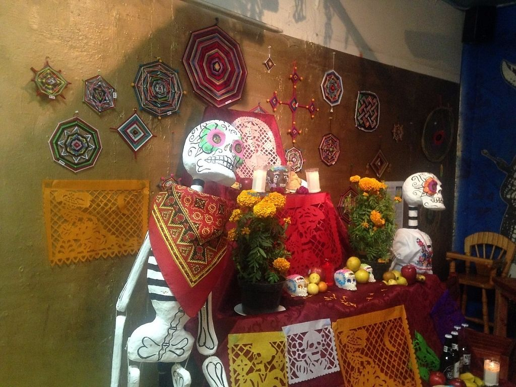 """Photo of Paraiso Vegetariano  by <a href=""""/members/profile/bonn93"""">bonn93</a> <br/>Dia de Muertos offering <br/> December 6, 2016  - <a href='/contact/abuse/image/83053/197776'>Report</a>"""