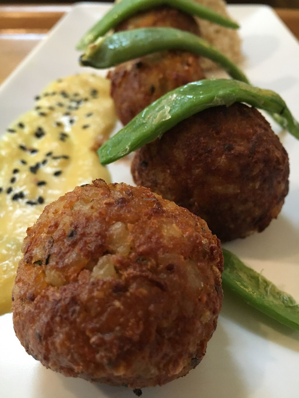 "Photo of Sopa - Provenca  by <a href=""/members/profile/hack_man"">hack_man</a> <br/>Sweet and sour tempeh balls  <br/> October 23, 2017  - <a href='/contact/abuse/image/83056/317969'>Report</a>"