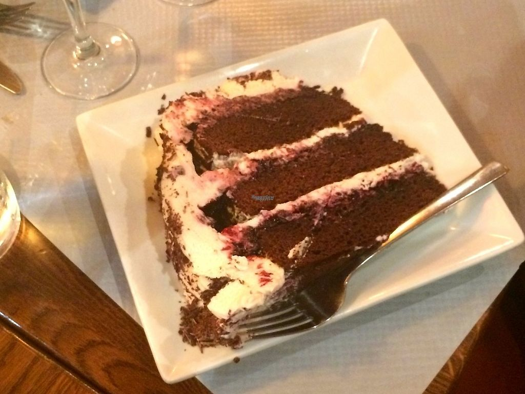 """Photo of L'Apollinaire  by <a href=""""/members/profile/LisaCupcake"""">LisaCupcake</a> <br/>Vegan black forest cake <br/> November 22, 2016  - <a href='/contact/abuse/image/83063/193219'>Report</a>"""