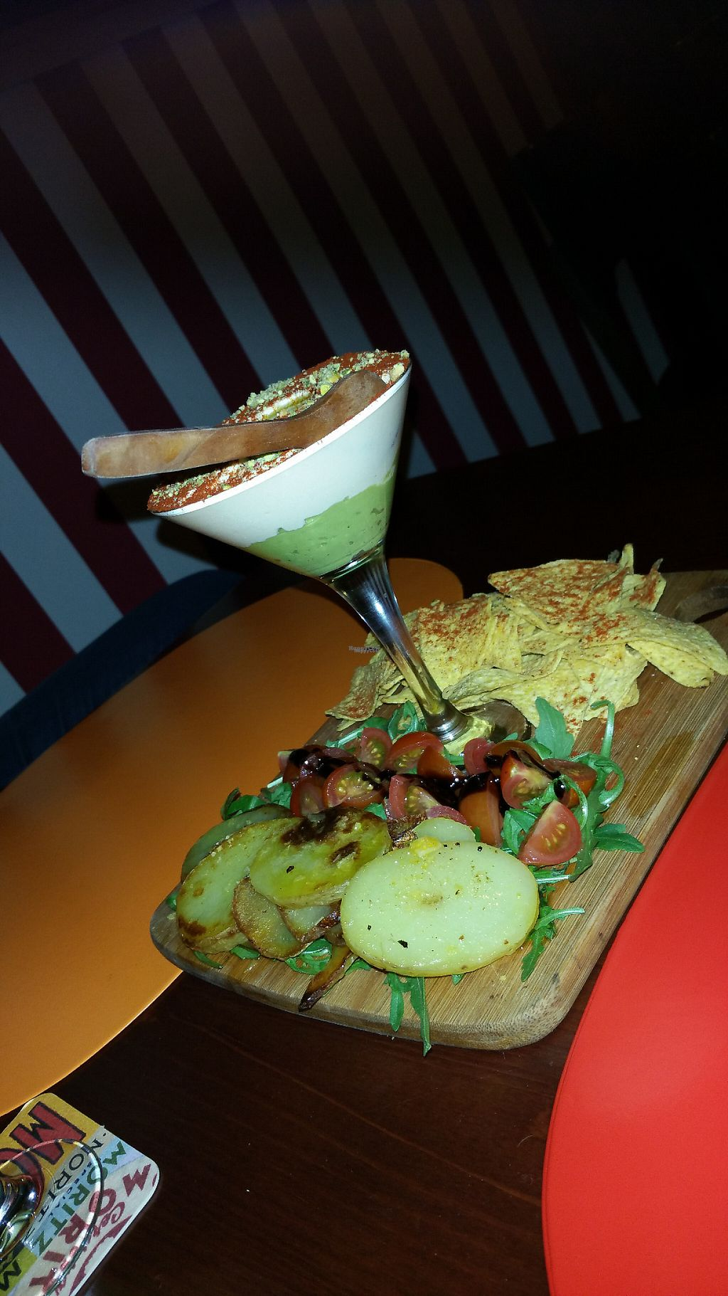 """Photo of Sa Ximbomba  by <a href=""""/members/profile/Mallorcatalks"""">Mallorcatalks</a> <br/>The hummus avocado cocktail - or as I like to call it: the tastiest starter EVER!  <br/> March 10, 2017  - <a href='/contact/abuse/image/83066/234991'>Report</a>"""