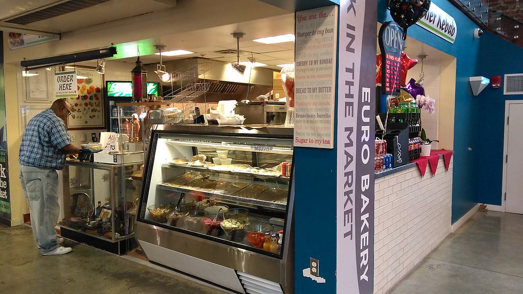 "Photo of Doner Kebab  by <a href=""/members/profile/Veganoker"">Veganoker</a> <br/>Main view of Doner Kebab in the City Market Building <br/> November 30, 2016  - <a href='/contact/abuse/image/83085/196001'>Report</a>"