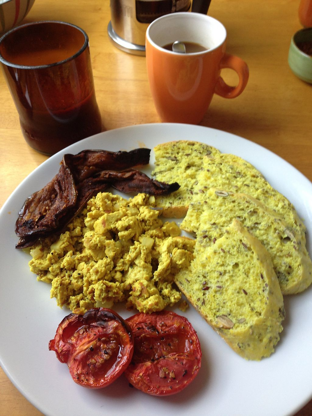 """Photo of Vegan Villa  by <a href=""""/members/profile/Stevie"""">Stevie</a> <br/>A small part of vegan breakfast <br/> February 14, 2017  - <a href='/contact/abuse/image/83088/226433'>Report</a>"""