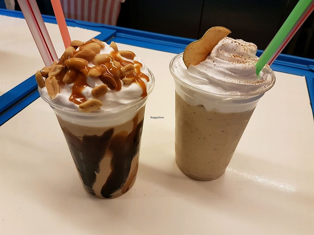 "Photo of Kitty's Milkshake Bar  by <a href=""/members/profile/christy1993"">christy1993</a> <br/>Peanut butter milkshake and apple pie milkshake <br/> October 6, 2017  - <a href='/contact/abuse/image/83090/312219'>Report</a>"
