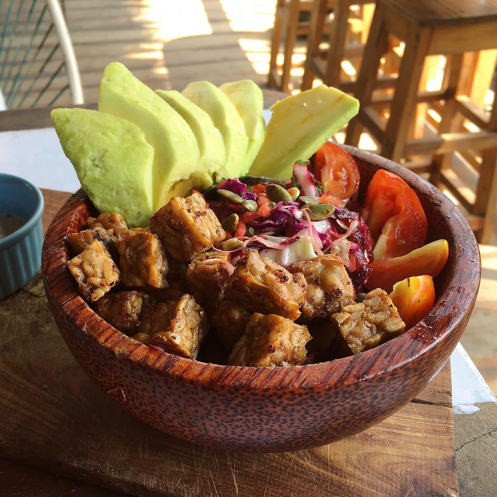 "Photo of Gili Bliss  by <a href=""/members/profile/IlonaGoossens"">IlonaGoossens</a> <br/>Tempeh salad  <br/> April 20, 2018  - <a href='/contact/abuse/image/83100/388396'>Report</a>"