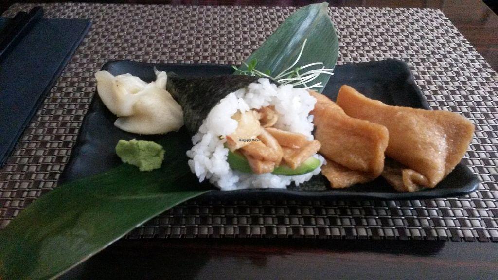 "Photo of Nippon Kitchen  by <a href=""/members/profile/deadpledge"">deadpledge</a> <br/>Inari nigiri, inari, avocado and sweet potato sushi <br/> June 24, 2017  - <a href='/contact/abuse/image/83103/272945'>Report</a>"