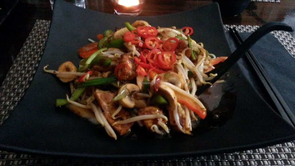 """Photo of Nippon Kitchen  by <a href=""""/members/profile/deadpledge"""">deadpledge</a> <br/>veg chilli buckwheat stir fry <br/> June 24, 2017  - <a href='/contact/abuse/image/83103/272946'>Report</a>"""