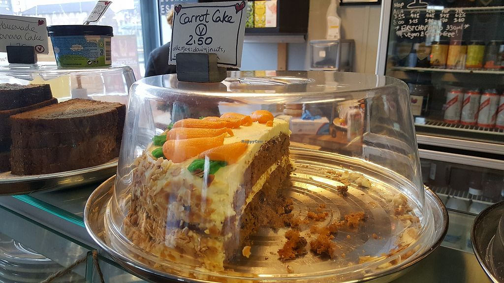 """Photo of Deli-Lama Cafe Bar  by <a href=""""/members/profile/Clare"""">Clare</a> <br/>Carrot cake <br/> January 22, 2018  - <a href='/contact/abuse/image/83105/349761'>Report</a>"""