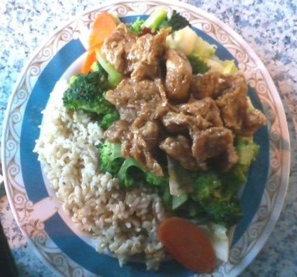 """Photo of Emmy's Vege House  by <a href=""""/members/profile/cvxmelody"""">cvxmelody</a> <br/>Vege Ginger Chicken <br/> February 13, 2012  - <a href='/contact/abuse/image/8310/223085'>Report</a>"""