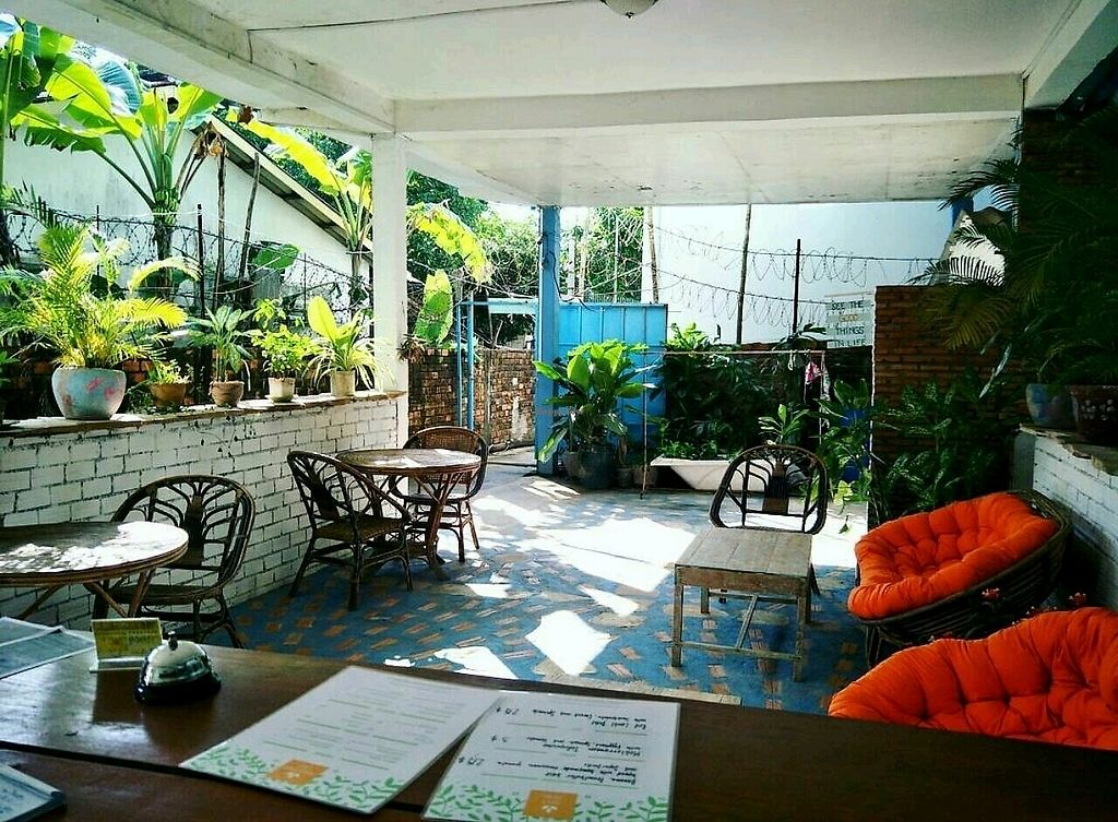 """Photo of Peace Food Cafe  by <a href=""""/members/profile/NeleTa"""">NeleTa</a> <br/>peacefoodcafé! a perfect place to chill and relax while we serve you some healthy delicious vegan food! :)  <br/> December 5, 2017  - <a href='/contact/abuse/image/83116/332420'>Report</a>"""