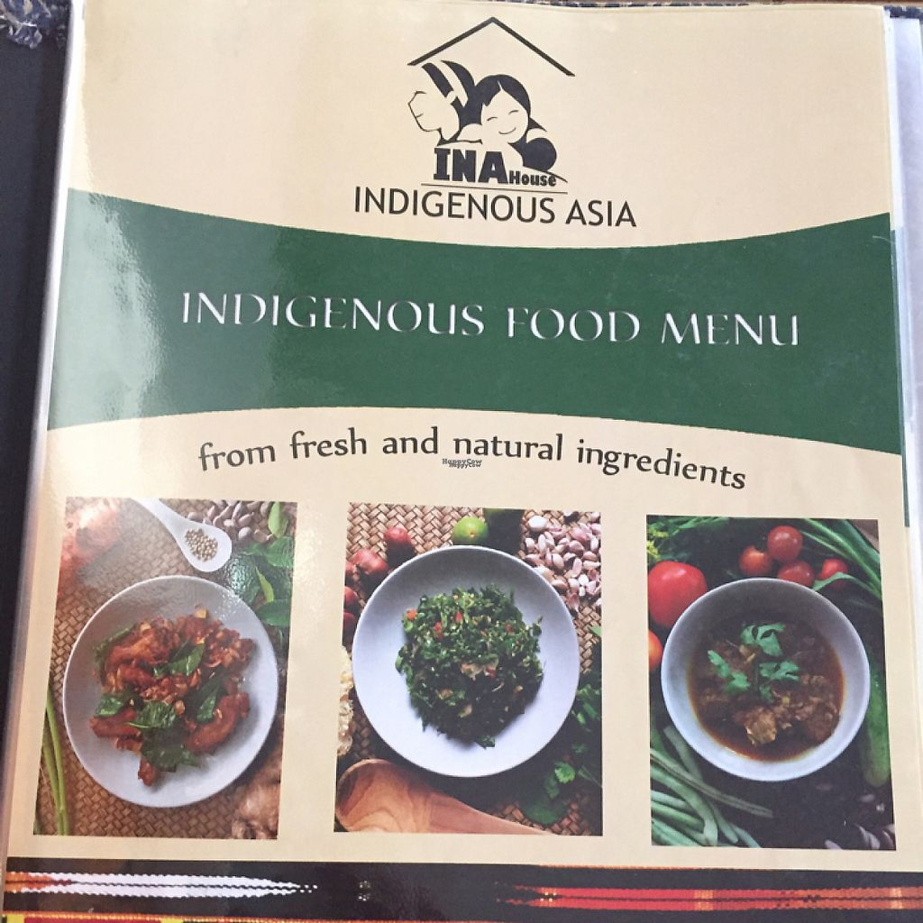 "Photo of INA House  by <a href=""/members/profile/Chessmaster2000"">Chessmaster2000</a> <br/>menu cover <br/> November 25, 2016  - <a href='/contact/abuse/image/83154/194315'>Report</a>"