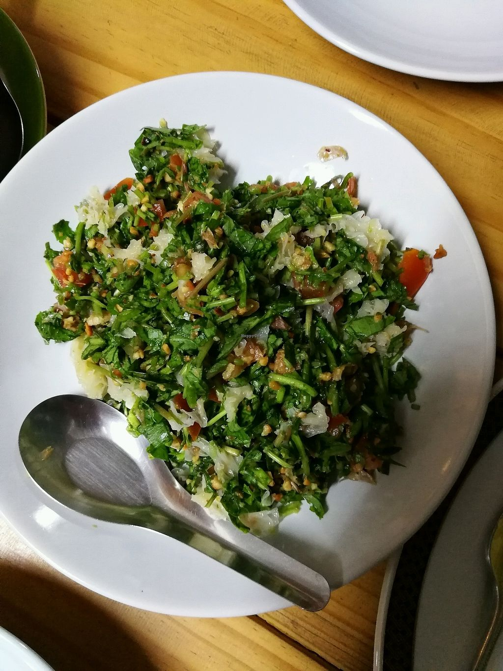 "Photo of INA House  by <a href=""/members/profile/RawChefYin"">RawChefYin</a> <br/>Asiatic pennywort salad  <br/> January 26, 2018  - <a href='/contact/abuse/image/83154/351140'>Report</a>"