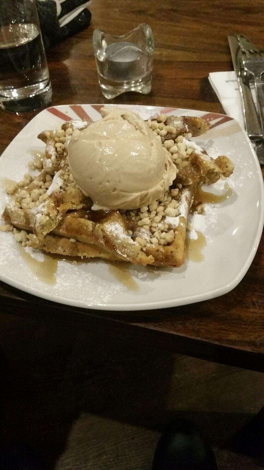 """Photo of Affogato   by <a href=""""/members/profile/KatieBatty"""">KatieBatty</a> <br/>Vegan waffles  <br/> February 16, 2017  - <a href='/contact/abuse/image/83180/227134'>Report</a>"""