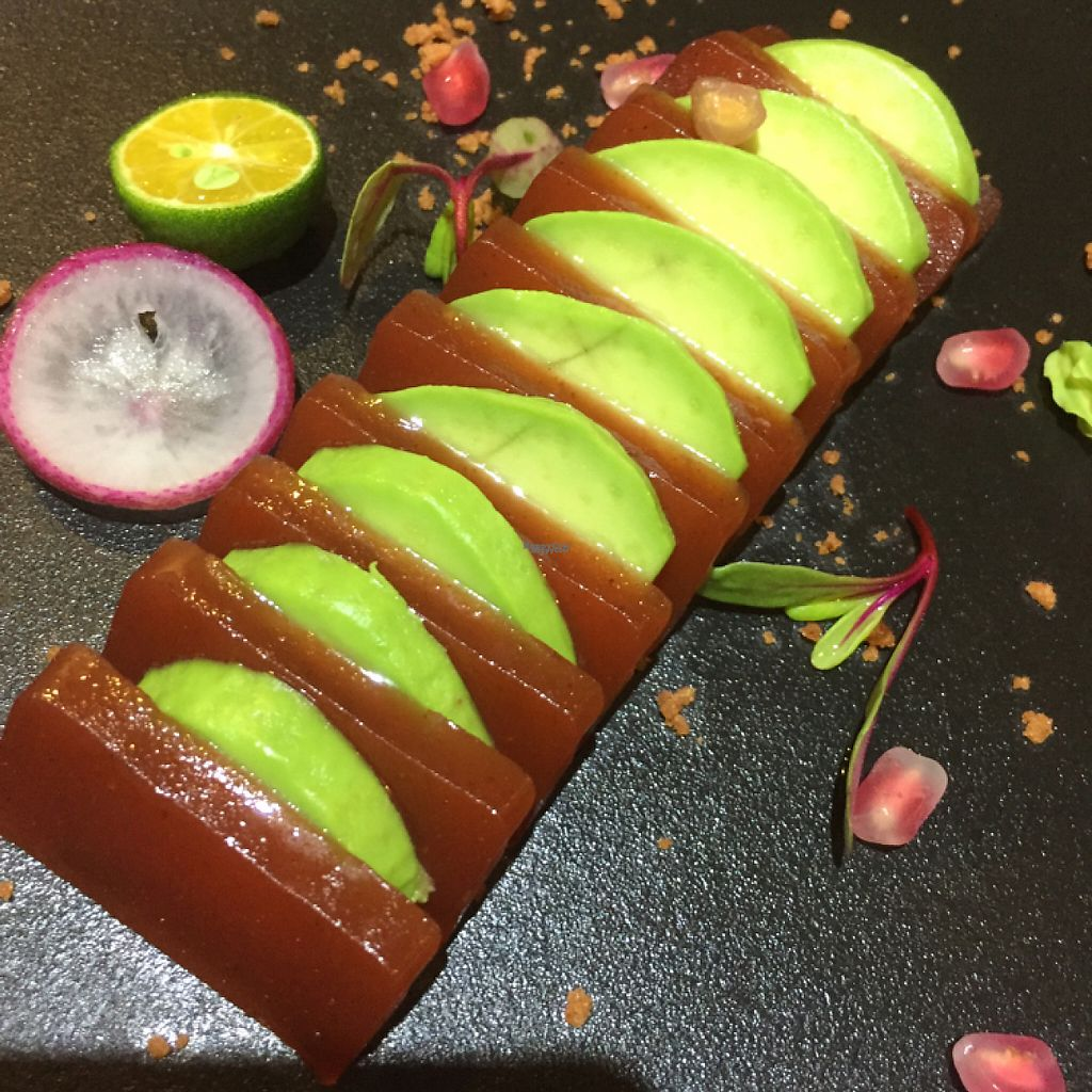"""Photo of Shiyi Yayuan  by <a href=""""/members/profile/vegannomad2"""">vegannomad2</a> <br/>avocado plum appetizer. beautiful tasty <br/> November 28, 2016  - <a href='/contact/abuse/image/83182/195476'>Report</a>"""