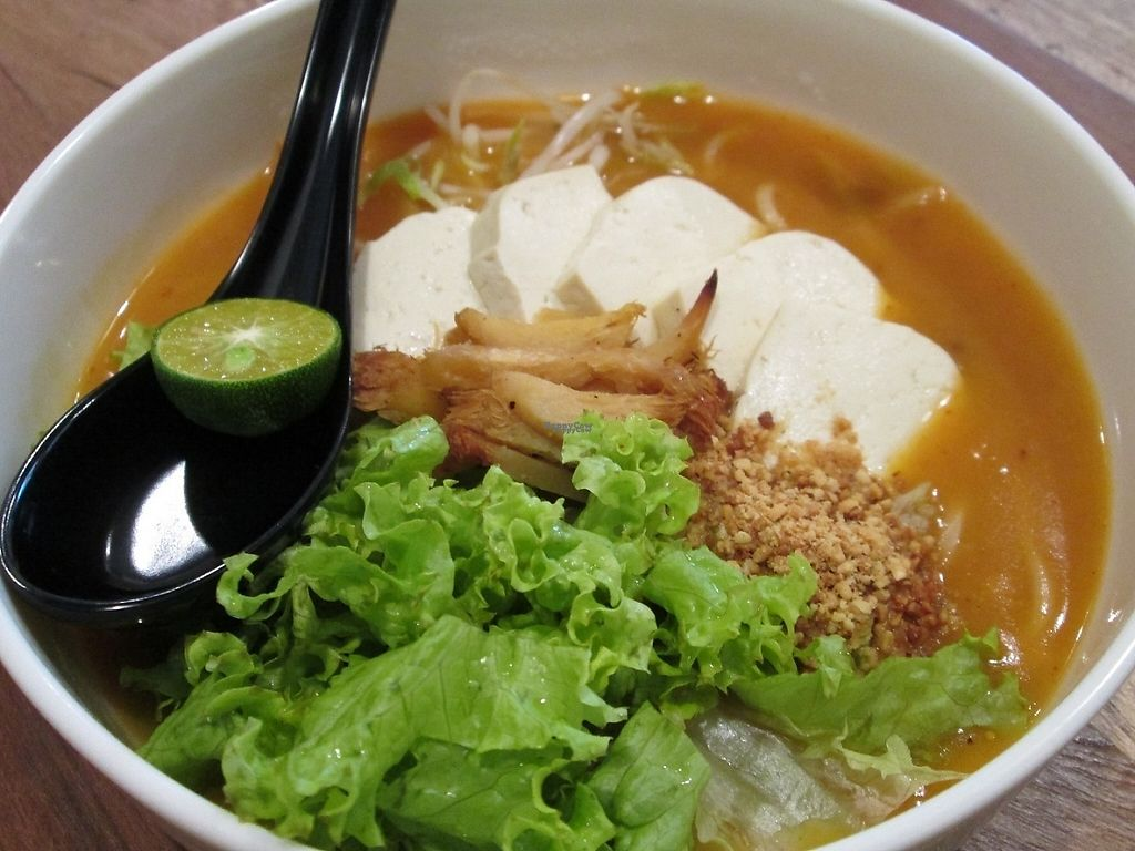 """Photo of Pinxin Vegan Cuisine  by <a href=""""/members/profile/Fruity%20Suzanne"""">Fruity Suzanne</a> <br/>Jawa Mee <br/> February 13, 2017  - <a href='/contact/abuse/image/83210/226143'>Report</a>"""