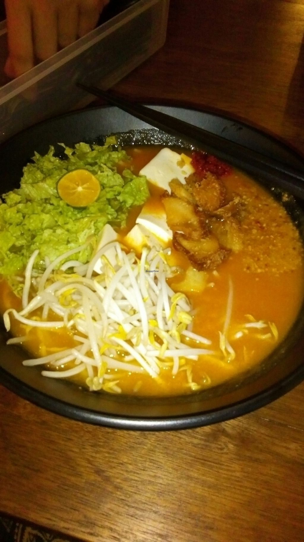 """Photo of Pinxin Vegan Cuisine  by <a href=""""/members/profile/u_are_brilliant"""">u_are_brilliant</a> <br/>Jawa mee for dinner. So big and so yummy <br/> June 6, 2017  - <a href='/contact/abuse/image/83210/266375'>Report</a>"""
