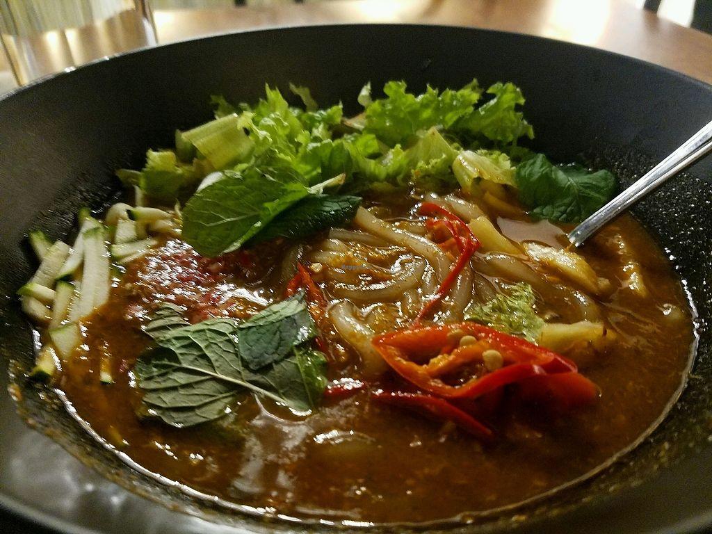 "Photo of Pinxin Vegan Cuisine  by <a href=""/members/profile/CassandraRosa"">CassandraRosa</a> <br/>vegan laksa  <br/> January 5, 2018  - <a href='/contact/abuse/image/83210/343244'>Report</a>"