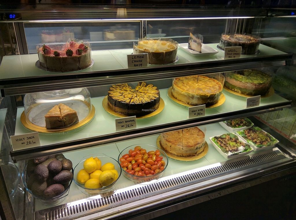 """Photo of Pinxin Vegan Cuisine  by <a href=""""/members/profile/Summer_Tan"""">Summer_Tan</a> <br/>Wide VEGAN CAKES selection <br/> January 28, 2018  - <a href='/contact/abuse/image/83210/352106'>Report</a>"""
