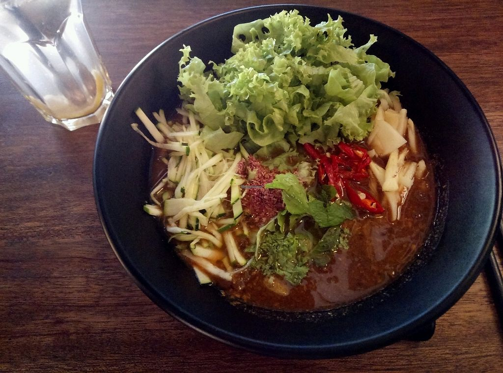 """Photo of Pinxin Vegan Cuisine  by <a href=""""/members/profile/SamanthaBurns"""">SamanthaBurns</a> <br/>Vegan version of local food! <br/> February 13, 2018  - <a href='/contact/abuse/image/83210/358733'>Report</a>"""