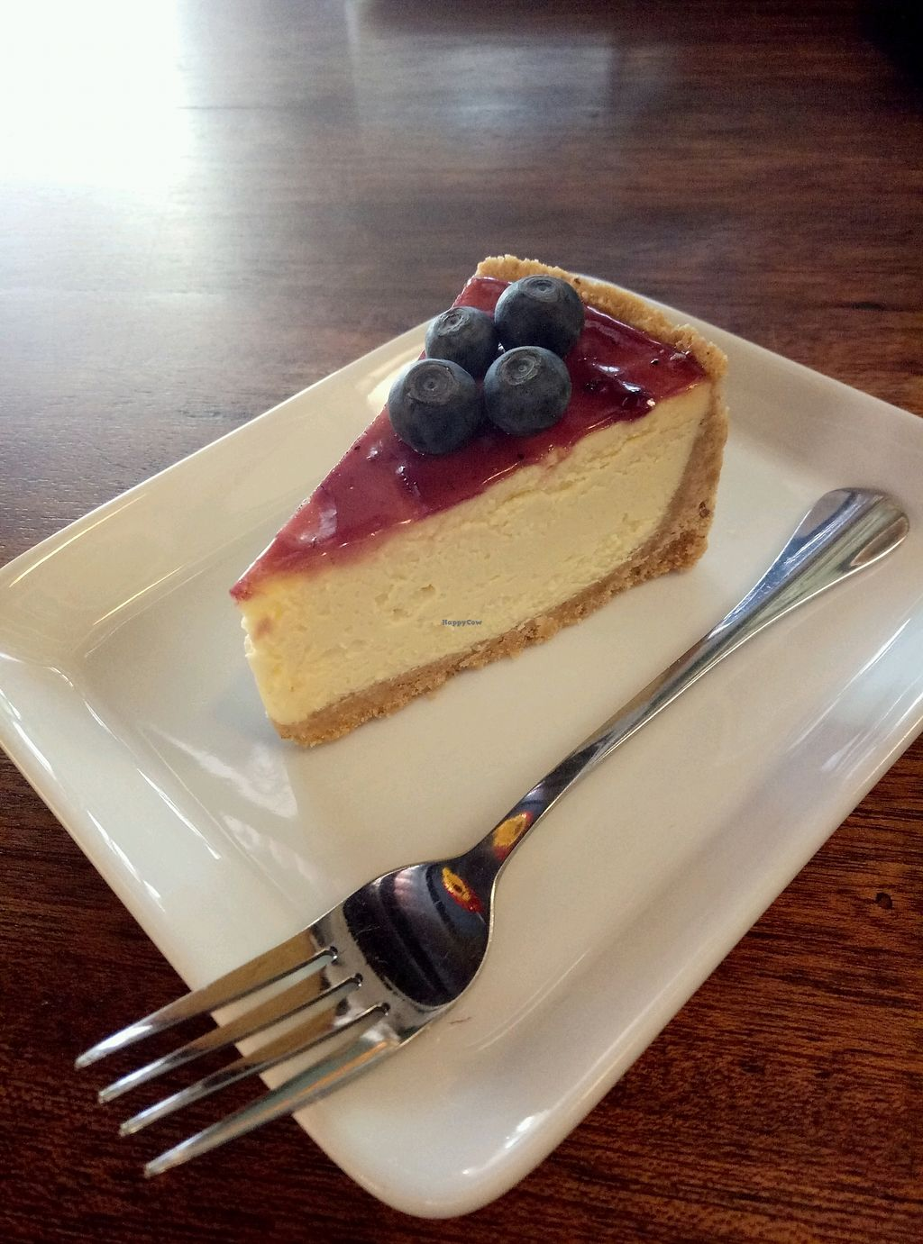 """Photo of Pinxin Vegan Cuisine  by <a href=""""/members/profile/SamanthaBurns"""">SamanthaBurns</a> <br/>Best vegan cheesecake!! <br/> February 13, 2018  - <a href='/contact/abuse/image/83210/358735'>Report</a>"""