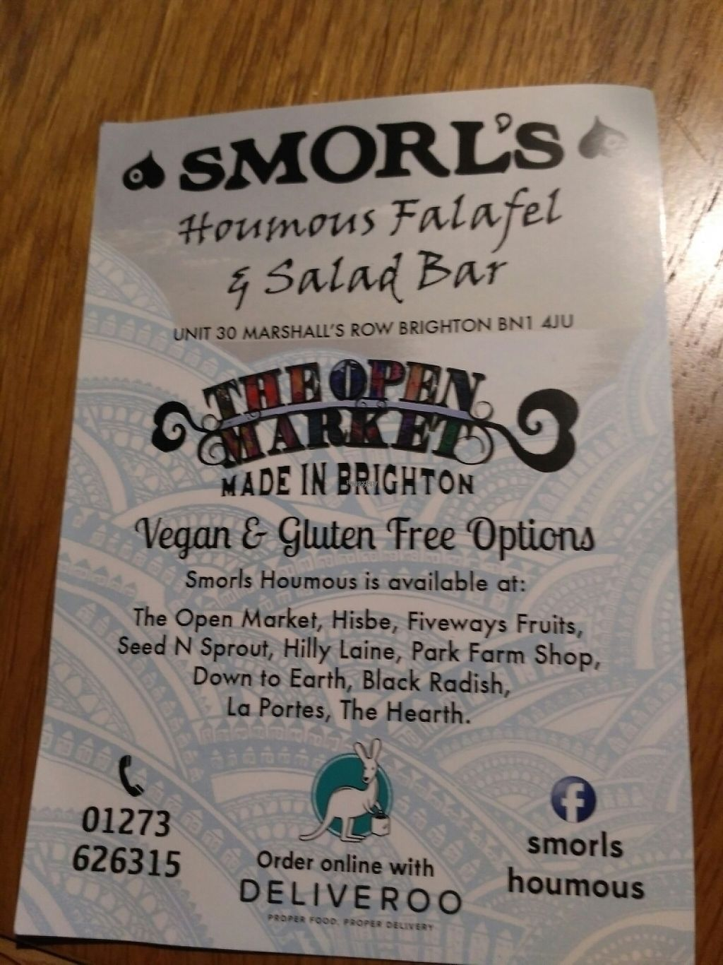 """Photo of Smorl's  by <a href=""""/members/profile/Miggi"""">Miggi</a> <br/>flyer  <br/> November 27, 2016  - <a href='/contact/abuse/image/83216/195056'>Report</a>"""